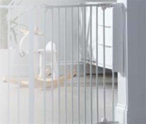 LINDAM набор креплений на стену для манежа белый