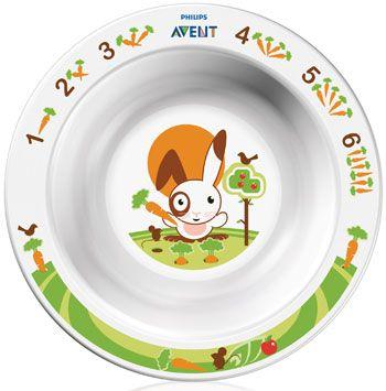 PHILIPS AVENT тарелочка глубокая  маленькая  6 м+