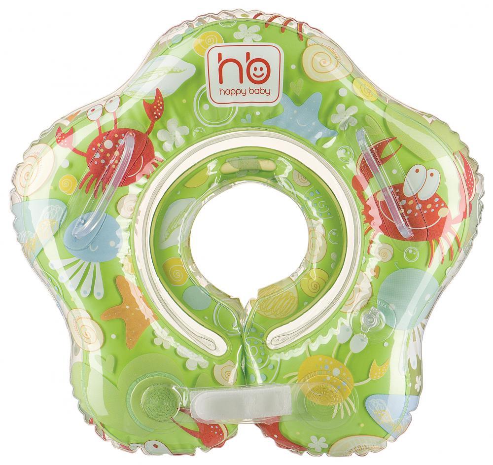 HAPPY BABY Детский надувной круг на шею SWIMMER