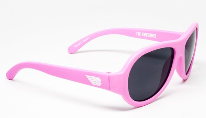 Купить Солнцезащитные шторки, накидки, очки, BABIATORS очки солнцезащитные Original Aviator (3-5) Принцесса (Princess Pink) розовые