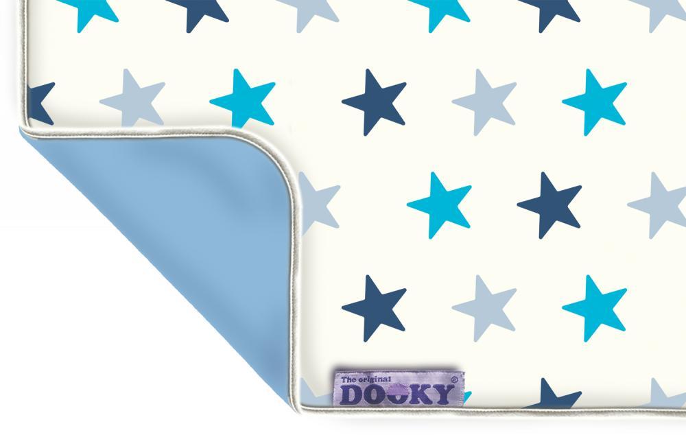 Купить Одеяла, подушки, спальные конверты, XPLORYS Одеяльце DOOKY Blue Stars/ Baby Blue, DOOKY- XPLORYS