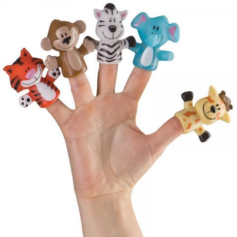 HAPPY BABY Набор игрушек FUN AMIGOS