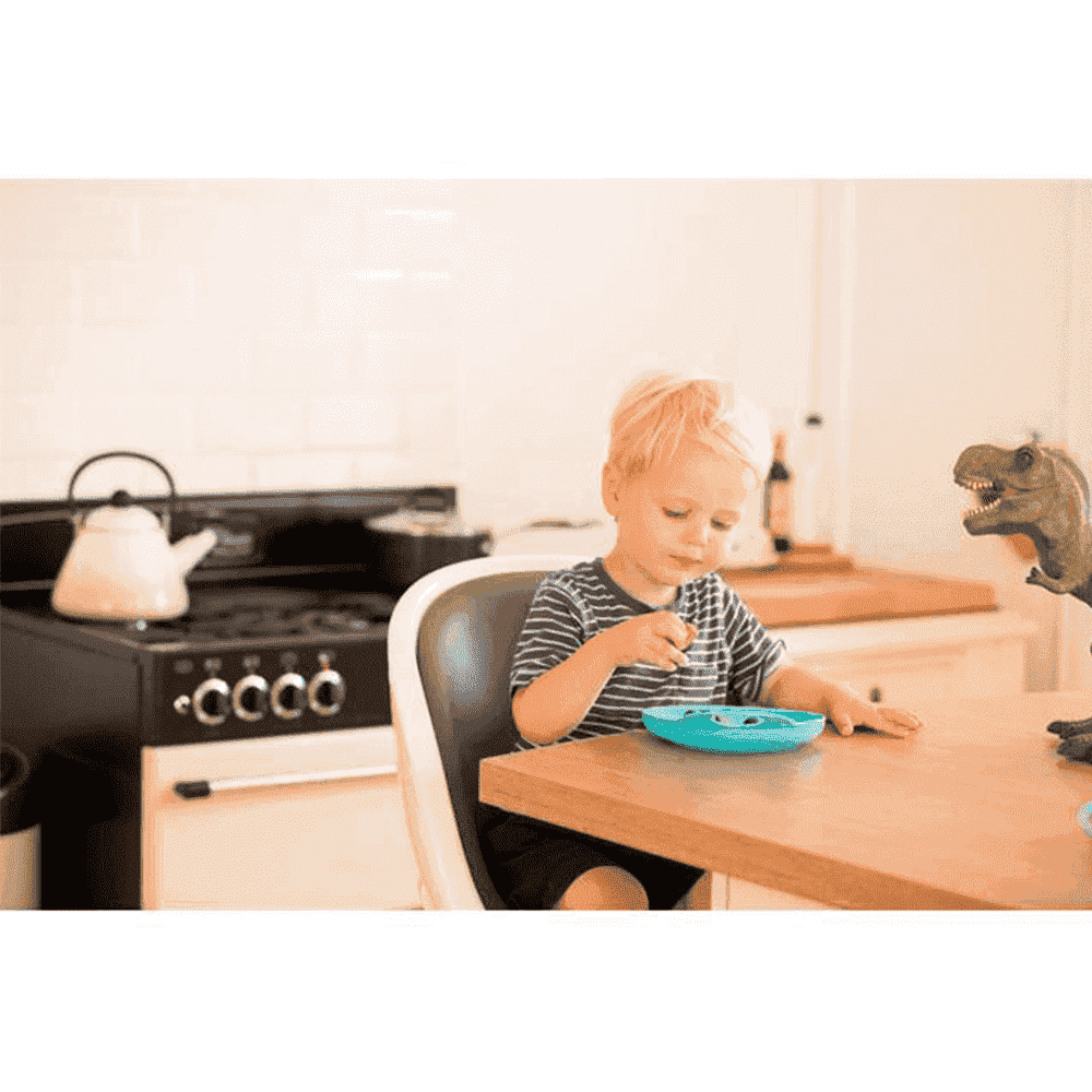 BROTHER MAX тарелочка неглубокая для кормления 2 шт. голубой/лайм NEW