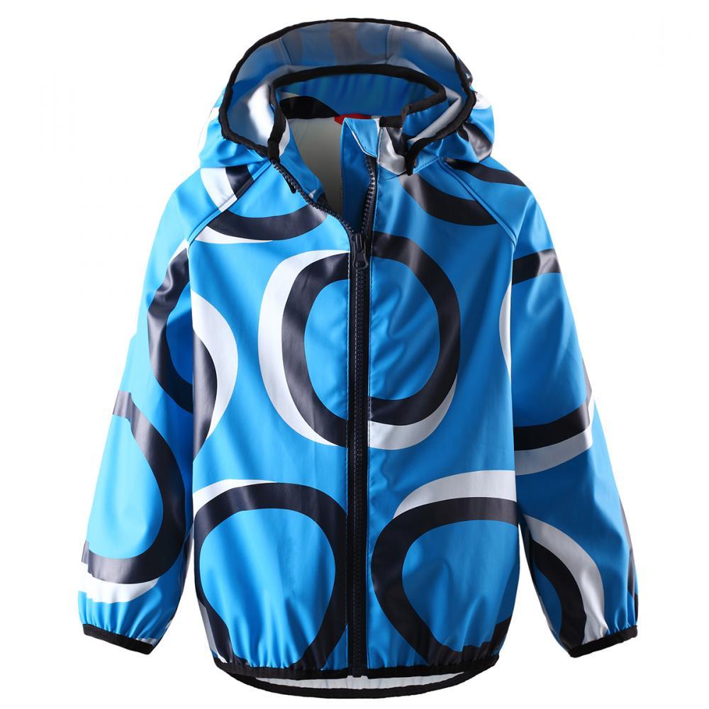 REIMA куртка для дождливой погоды Kupla синяя р.110 от olant-shop.ru
