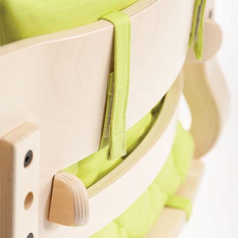 LEANDER Подушка для стульчика серый