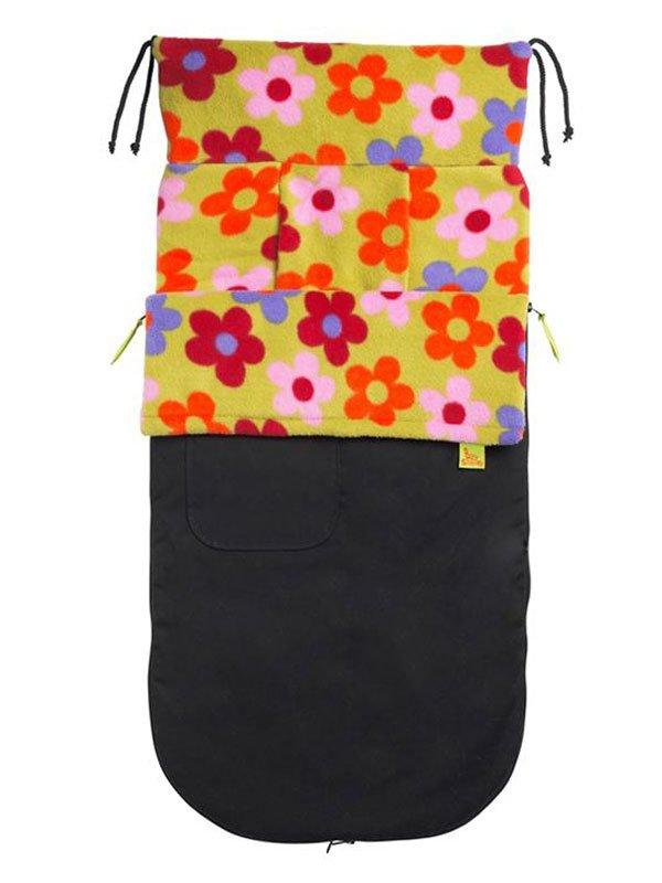 BUGGYSNUGGLE конверт для коляски водостойкий Bright Flower (осень-зима)