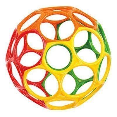 Купить Первые игрушки, погремушки, O-BALL мячик «Oball» от 0 мес. в ассортименте 15см