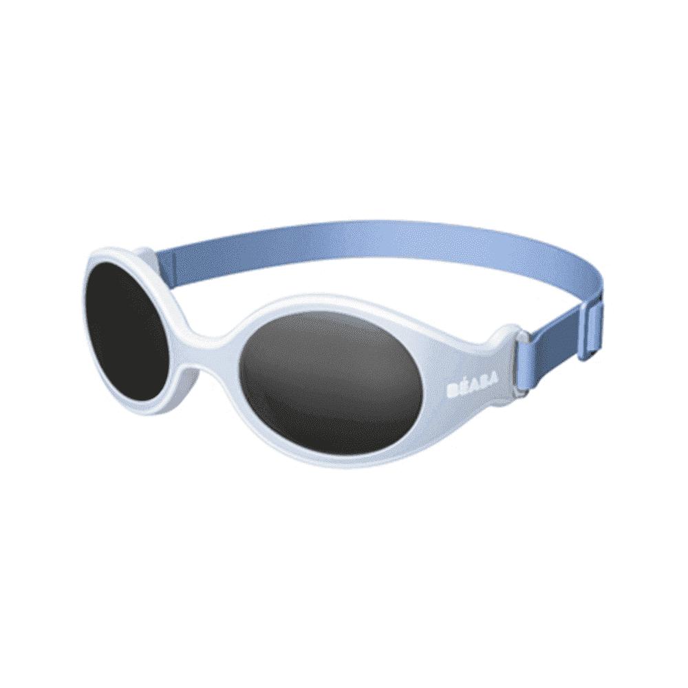 BEABA солнцезащитные очки детские с рождения Категория 4 CLIP STRAP SUNGLASSES BLUE