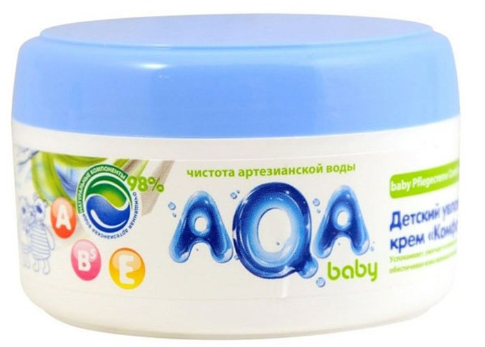 "AQA BABY детский увлажняющий крем ""Комфорт"", 100 мл"