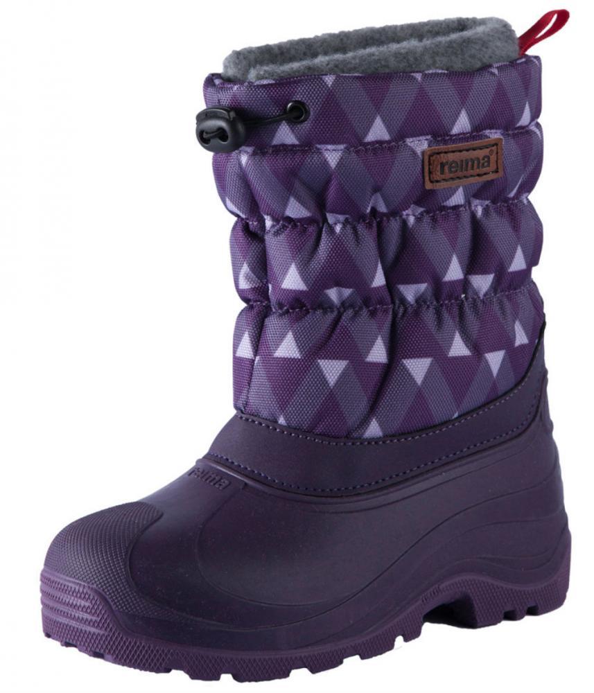 Купить Обувь, носки, пинетки, REIMA ботинки зимние IVALO фиолетовые р.32/33