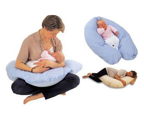 PLANTEX подушка многофункциональная Comfy Big Marcele blue 160х29см.