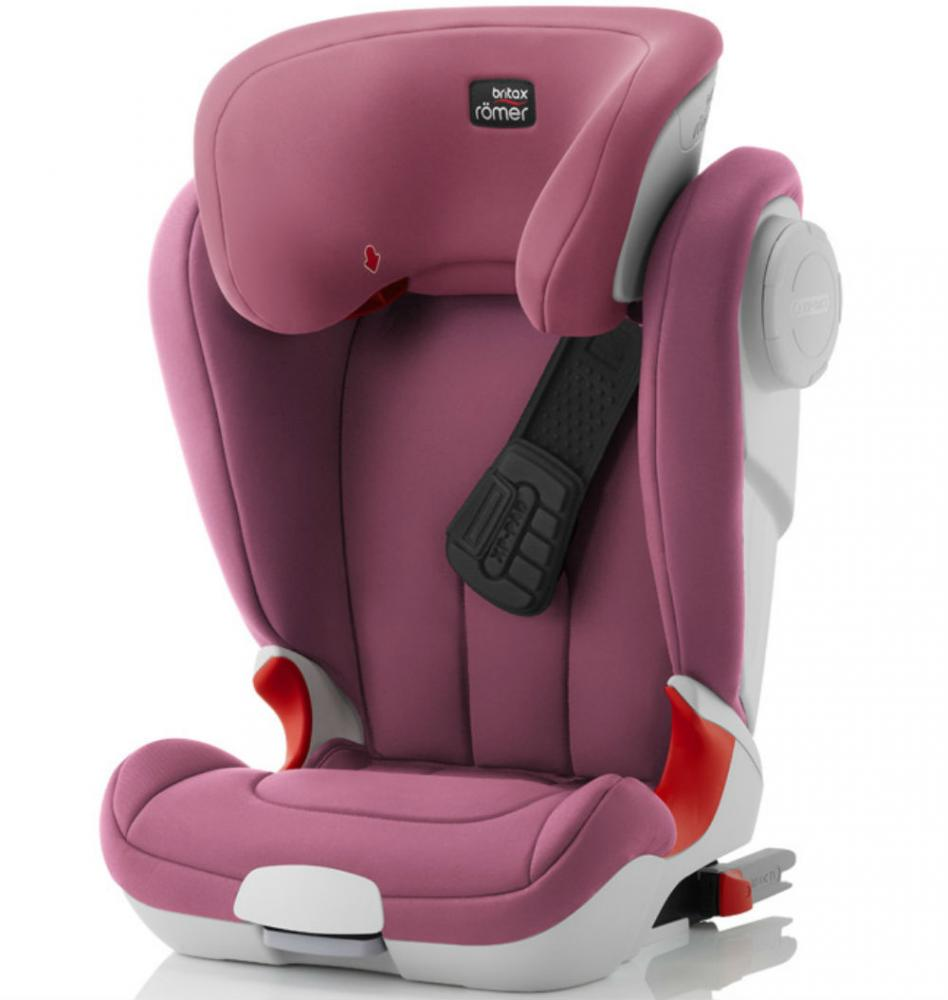 BRITAX ROEMER автокресло KIDFIX XP-SICT Wine Rose (Группа 2-3, от 15 до 36 кг)