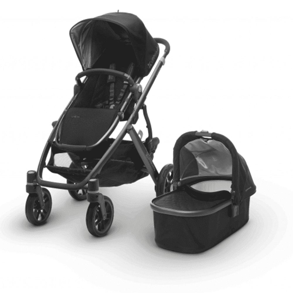 Купить Коляски для новорожденных, UPPABABY Коляска 2 в1 Vista 2017 JAKE (Black) черная, UPPABABY, США