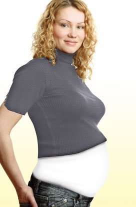 Emma Jane бандаж(карман на живот) для беременных белый р.42-44