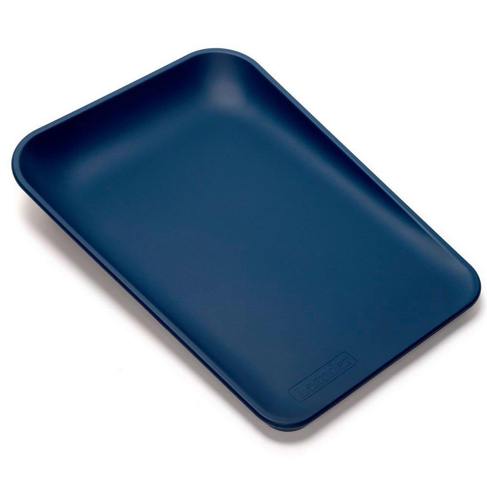LEANDER пеленальный матрасик темно-синий