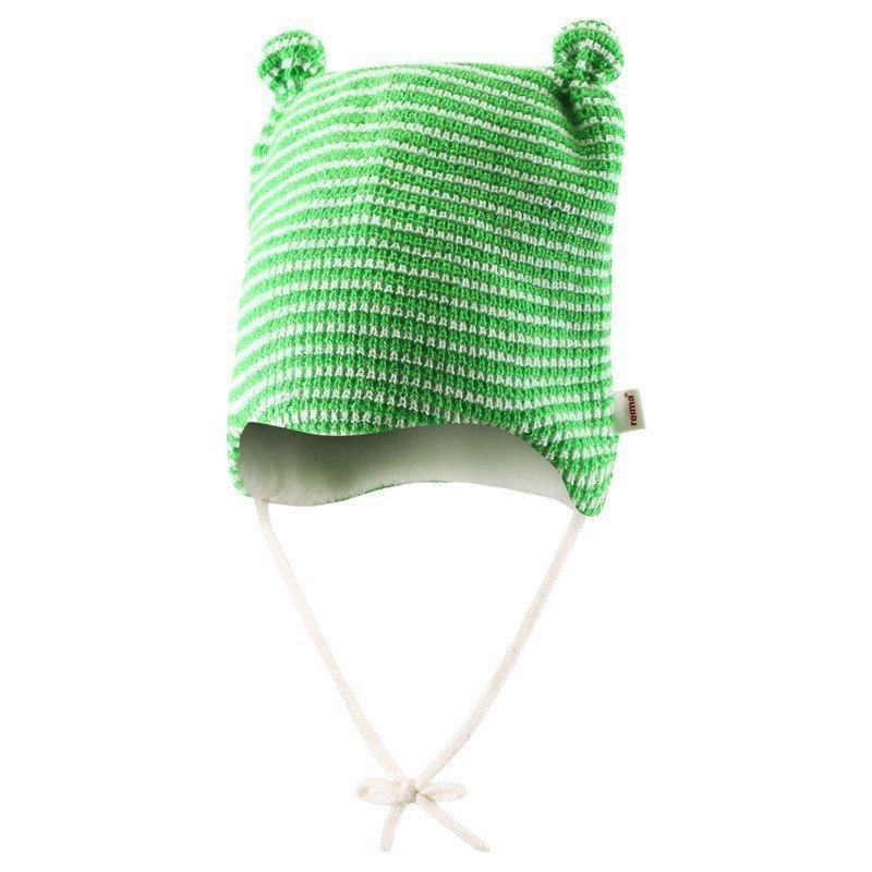 Купить Шапки, варежки, перчатки, REIMA BABY Шапочка шерстяная Nokoset зеленая р.44/46