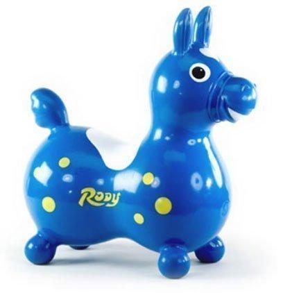"GYMNIC мяч-лошадка ""Роди"" синий"