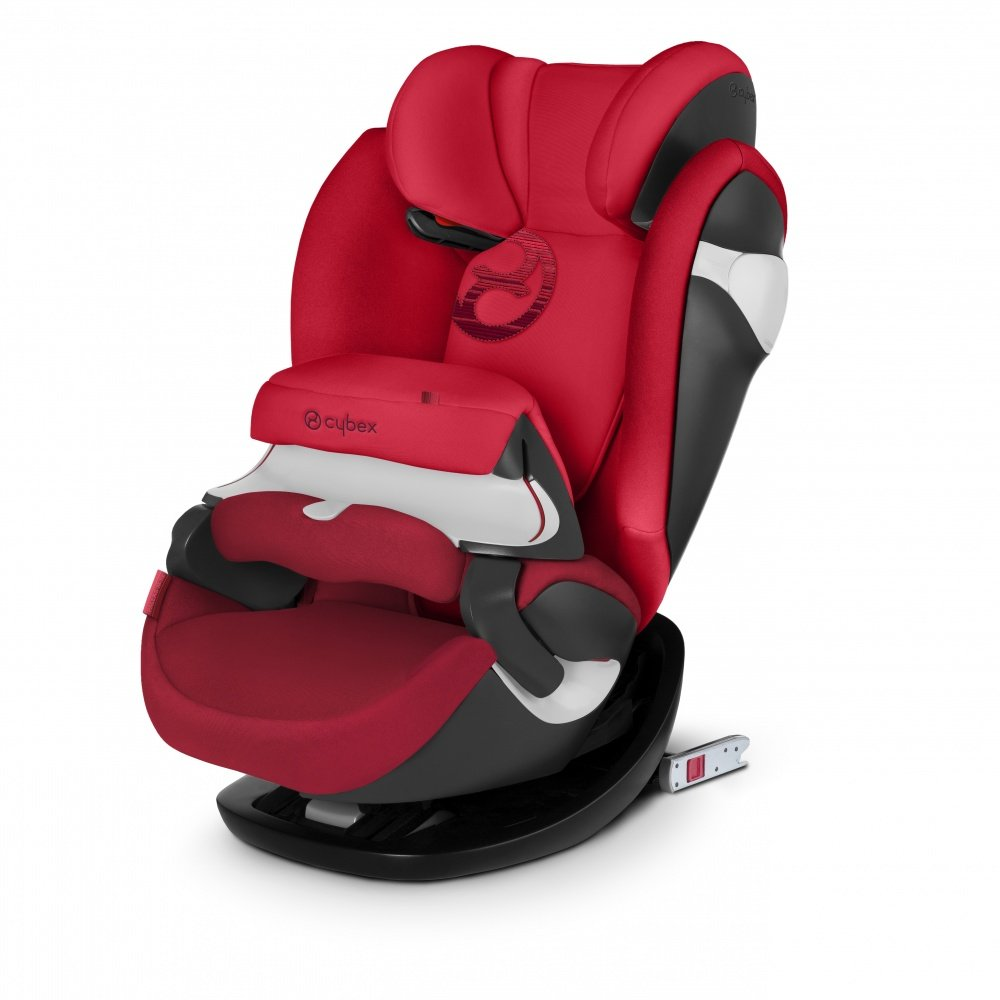 CYBEX автокресло Pallas M-Fix Rebel Red (гр.1/2/3)
