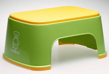 BABYBJORN стульчик-подставка зеленый