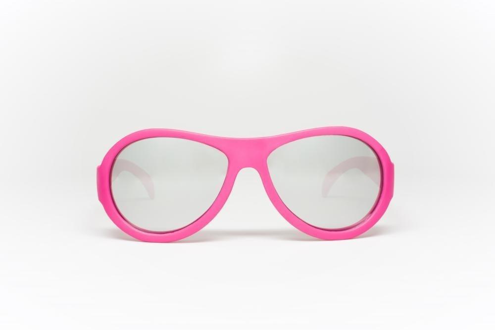Купить со скидкой Babiators очки солнцезащитные aces aviator (6+) поп-звезда (popstar). розовый, зеркальные линзы