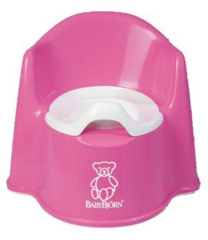 BABYBJORN горшок-кресло розовый