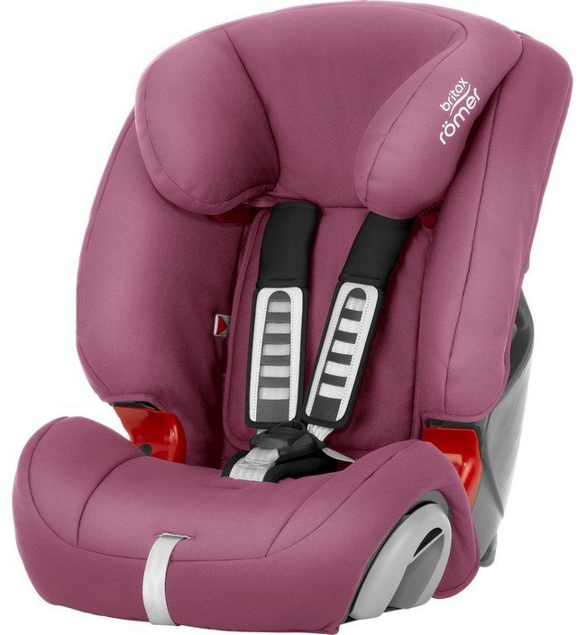 Britax Roemer автокресло Evolva 123 Wine Rose Trendline