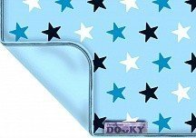 XPLORYS Одеяльце DOOKY Baby Blue/ Baby Blue Star