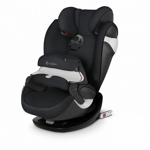 Cybex автокресло Pallas M-Fix Lavastone Black (гр.1/2/3)