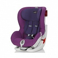 BRITAX ROEMER автокресло KING II LS Mineral Purple (группа 1, от 9 до 18 кг)