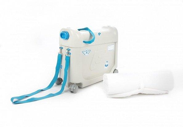 019e60633375 JETKids Детский чемодан-кроватка для путешествий BedBox синий