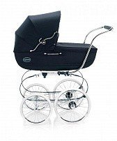 INGLESINA коляска Classica Marina на шасси Balestrino Chrome/Blue (AB05E0MAR+AE05E1000)