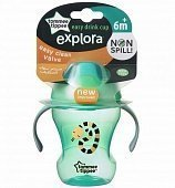 Tommee Tippee чашка Explora Easy Drink (зелёная)