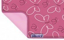 XPLORYS Одеяльце DOOKY Butterfly/ Baby Pink