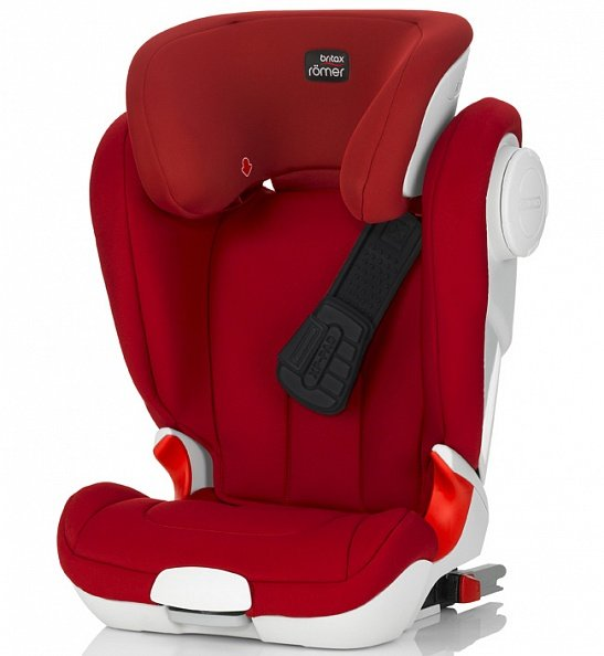 Britax Roemer автокресло KIDFIX XP-SICT Flame Red (Группа 2-3, от 15 до 36 кг)