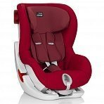 Britax Roemer автокресло KING II Flame Red (группа 1, от 9 до 18 кг)