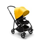 Bugaboo Bee6 коляска прогулочная Black/Black/Lemon Yellow complete