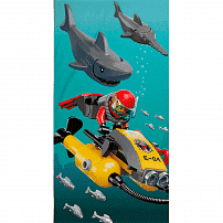 LEGO полотенце LEGO CITY SHARK,413