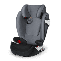 CYBEX Автокресло Solution M-Fix Pepper Black гр. 2/3 ( 15-36 кг)