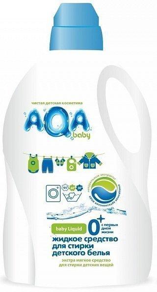 f4fce301d439 Aqa Baby средство для стирки детского белья жидкое, 1500 мл - купить ...
