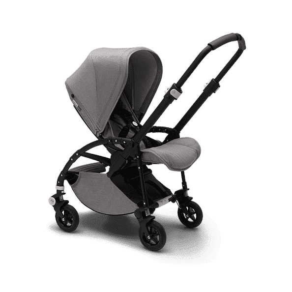 Bugaboo Коляска 2 в 1 Bee5 Mineral LIGHT GREY / BLACK