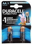 Duracell элемент питания LR6 TURBO MAX (AA), 2шт.