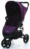 VALCO BABY Коляска прогулочная SNAP/ Deep purple черное шасси