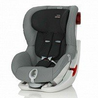 BRITAX ROEMER автокресло KING II LS Steel Grey (группа 1, от 9 до 18 кг)