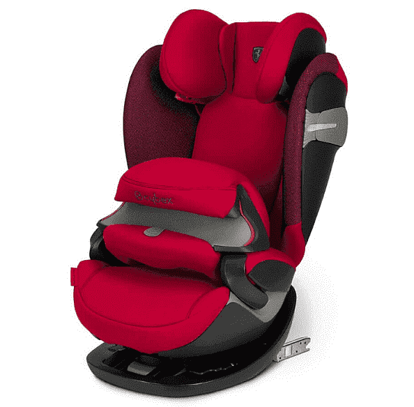 Cybex Автокресло Pallas S-Fix Ferrari Racing Red