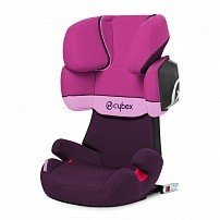 CYBEX автокресло SOLUTION X2 -Fix Purple Rain гр. 2/3 ( 15-36 кг)