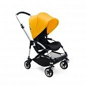 Bugaboo Прогулочная коляска Bee5 complete ALU/BLACK-SUNRISE YELLOW