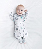 Love To Dream Swaddle Up комбинезон спальный Transition Suit Lite White