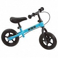 "FUNKIDS Беговел с тормозом 10 ""On-The-Go"" цв. Голубой"