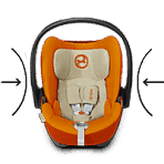 Cybex автокресло Cloud Q Autumn Gold гр. 0 (до 13 кг)