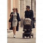 CYBEX коляска прогулочная PRIAM, шасси Chrome с колесами All Terrain, Butterfly